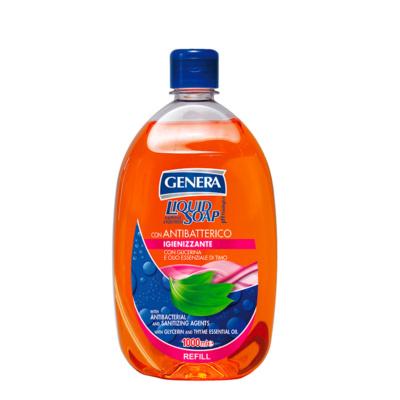 GENERA Sapone Liquido con Antibatterico Ricarica 1000 ml