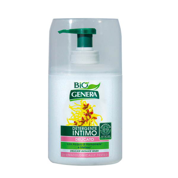 GENERA BIO' Detergente Intimo con Acqua di Hamamelis e Melissa 250 ml